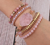 The Loving Healer Rose Quartz Bracelet