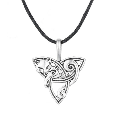 Fenrir Triquetra Necklace