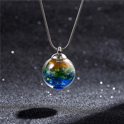 Galaxy Fantasy Orb Necklace