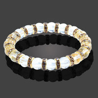 Multicolor Natural Crystal Energy Bracelet
