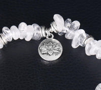 Clear Quartz Positivity Bracelet