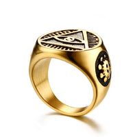 The Eye of Providence Ring
