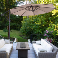 Hanging Umbrella Patio Sun Shade