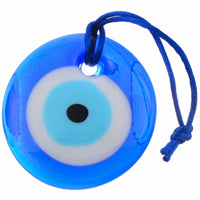 Lucky Blue Glass Evil Eye Protection Amulet