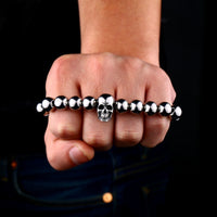 Immortal Skull Stainless Steel Bracelet