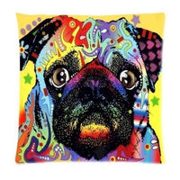 Psychedelic Printed Dog Cushion Covers 45x45cm / style 25 Decoration