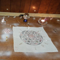 Pure Love Crystal Grid Kit Crystals