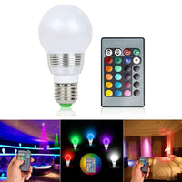Remote RGB Bulb Color Changing LED Light Bulb