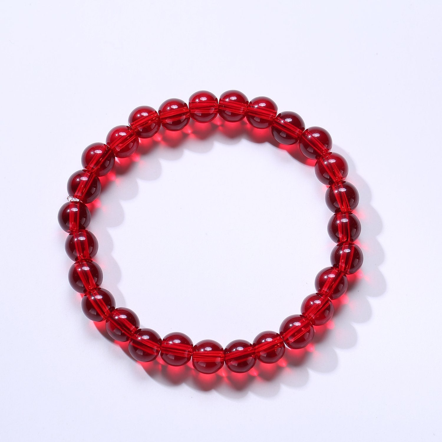 photo fullxfull listing beads gallery garnet bracelets faceted red bracelet jewelry stretch il handmade