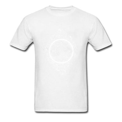 Sacred Geometry Sri Yantra T-shirt White / S Clothing