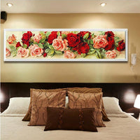 Shimmering Roses Diamond Painting Decor