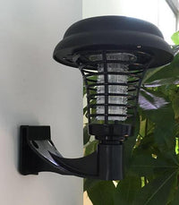 Solar Powered UV Outdoor Insect Exterminator Wall-mounted Pest Control