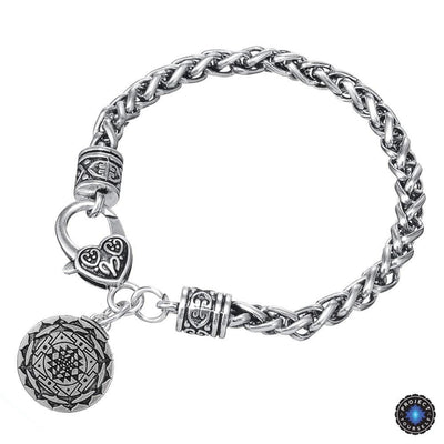 Sri Yantra for Growth and Healing Amulet Bracelet Sri Yantras
