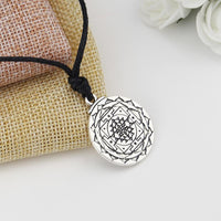 Sri Yantra for Growth and Healing Amulet Sri Yantra Necklace