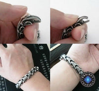 Stainless Steel Dragon Hide Bracelet Bracelet