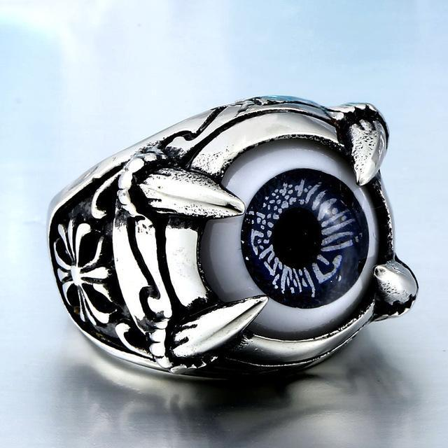 ksr eye evil shema israel ring blessing rings sterling product silver kabbalah