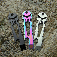 Stainless Steel Pocket Skull Multi-Tool Tools