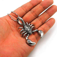 Stainless Steel Scorpion Necklace pendant