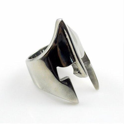 Stainless Steel Spartan Ring Silver / 10 Rings
