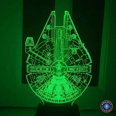 Star Wars 3D Lights Color Changing LED Lamp 3D Lights