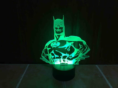 Star Wars 3D Lights Color Changing LED Lamp STYLE - BATMAN 3D Lights