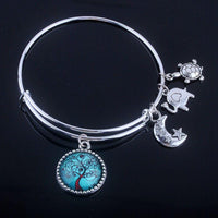 Stunning Tree of Life Adjustable Charms Bangles Bracelet Bracelet