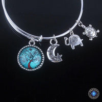 Stunning Tree of Life Adjustable Charms Bangles Bracelet Style 1 Bracelet