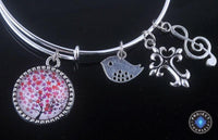 Stunning Tree of Life Adjustable Charms Bangles Bracelet Style 12 Bracelet