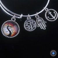 Stunning Tree of Life Adjustable Charms Bangles Bracelet Style 14 Bracelet