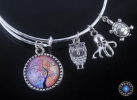 Stunning Tree of Life Adjustable Charms Bangles Bracelet Style 15 Bracelet