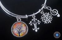 Stunning Tree of Life Adjustable Charms Bangles Bracelet Style 16 Bracelet