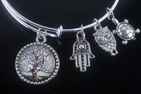 Stunning Tree of Life Adjustable Charms Bangles Bracelet Style 17 Bracelet