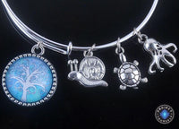 Stunning Tree of Life Adjustable Charms Bangles Bracelet Style 18 Bracelet