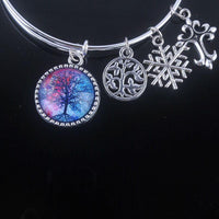 Stunning Tree of Life Adjustable Charms Bangles Bracelet Style 2 Bracelet