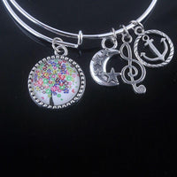 Stunning Tree of Life Adjustable Charms Bangles Bracelet Style 3 Bracelet