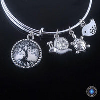 Stunning Tree of Life Adjustable Charms Bangles Bracelet Style 4 Bracelet