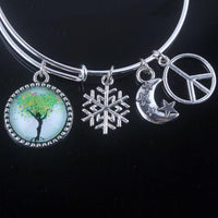 Stunning Tree of Life Adjustable Charms Bangles Bracelet Style 7 Bracelet