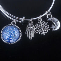 Stunning Tree of Life Adjustable Charms Bangles Bracelet Style 8 Bracelet