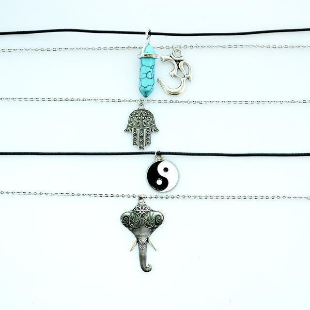 Symbolic Pendant Necklaces Project Yourself
