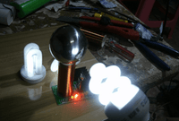 Tesla Coil Experiment Kit Lights