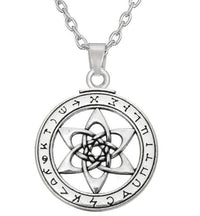 The Astrologer's Star: Angel Kakabel Pendant Necklace Link Chain Necklace