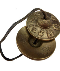 Tingsha Meditation Hand Cymbal Mind and Spirit