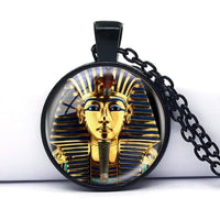 Tutankhamun Handmade Necklace Black Necklaces