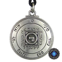 Ultimate Love Talisman Key of Solomon: Fourth and Fifth Pentacle of Venus Pendant Necklace pendant