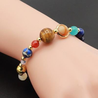 Universe natural stone bracelet project yourself for The universe conspires jewelry