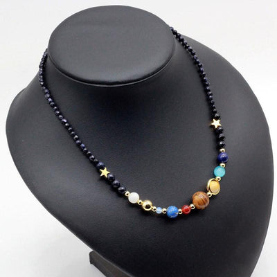 Universe Natural Stone Necklace Necklace