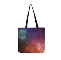 Universe Tote Bag Reusable Shopping Bag (Two sides) Shopping Tote Bag (1660)