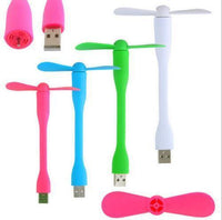 USB Flexible Mini Fan USB