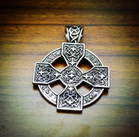 Viking Sun Cross Rune Necklace Necklaces
