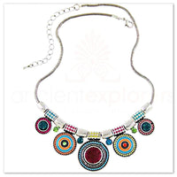Vintage Bohemian Bead Necklace Multicolor Necklaces